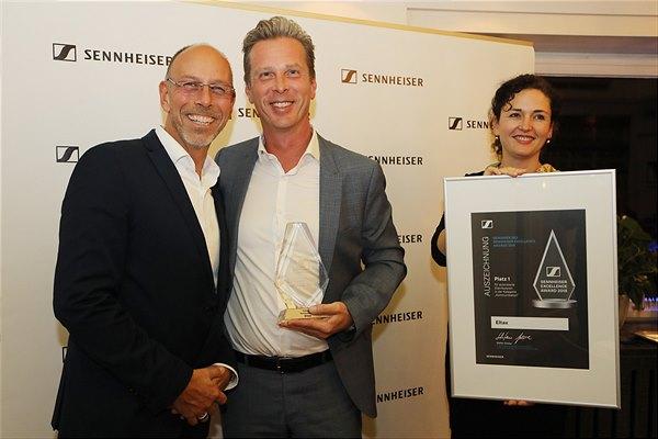 eltax holt Sennheiser Award nach Österreich